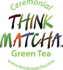 Think Matcha | Green Tea | Chocolate Sticky Logo